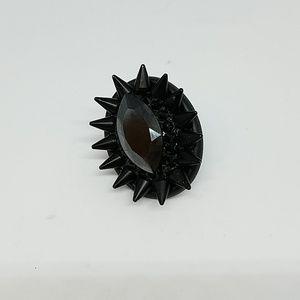 GASOLINE GLAMOUR Jewelry - Midnight rider Swarovski rhine spike ring sample